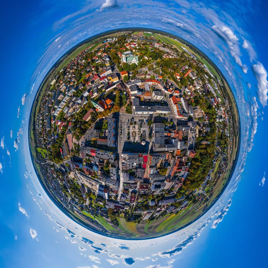Olesno - globus