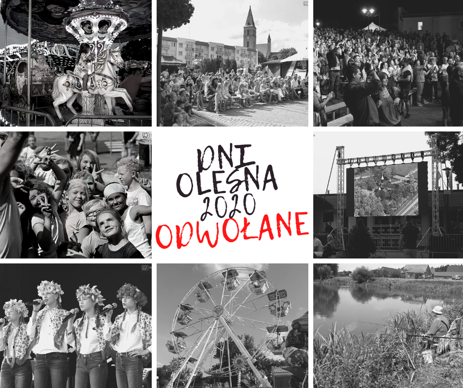 Dni Olesna 2020 odwołane
