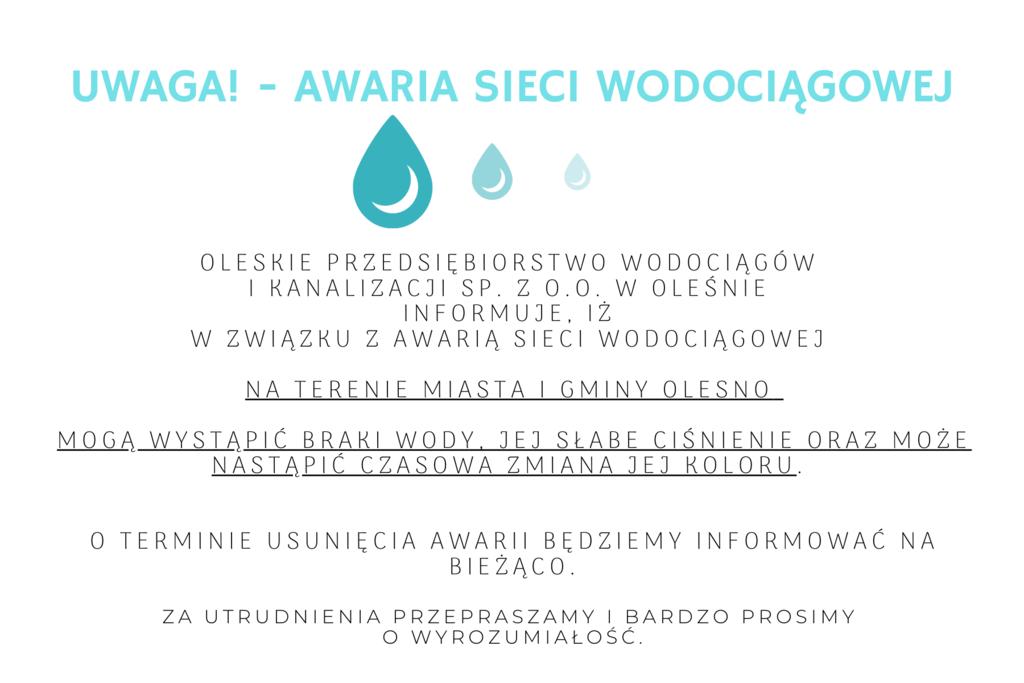 Niebieska Kropla Wody Woda Butelka Etykieta.png