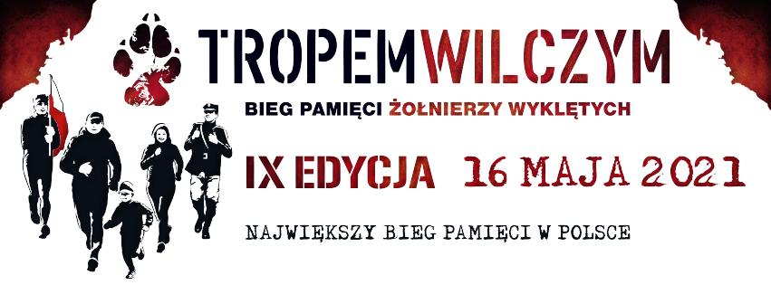 bieg tropem wilczym edycja IX - 2021 r.