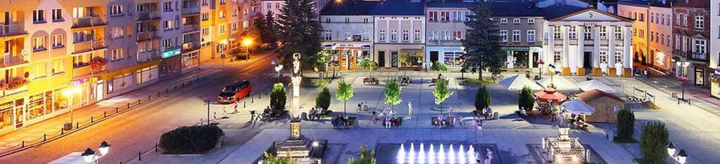 Rynek w Oleśnie