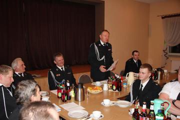 Galeria Zebranie sprawozdawcze w OSP Wysoka