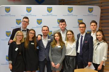 Galeria Oleśnianie w Młodzieżowym Forum Samorządu Województwa Opolskiego