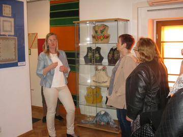Galeria Wystawa łowicka w oleskim muzeum