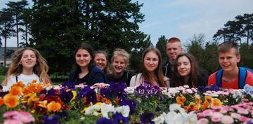 Galeria Uczniowie z PSP nr 1 w węgierskim Zalakaros