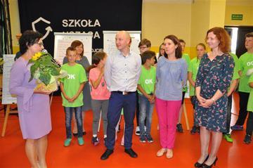 """Galeria PSP w Wojciechowie z certyfikatem """"Szkoła ucząca się"""""""