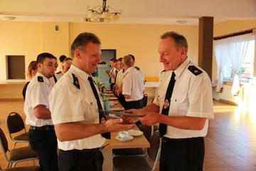Galeria Spotkanie ze strażakami z Wysokiej – wicemistrzami Opolszczyzny w sportach pożarniczych