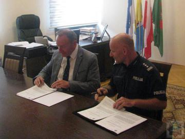 Galeria Porozumienie w sprawie dodatkowych służb Policji