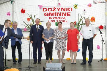 Galeria Dożynki Gminne Wysoka 2018