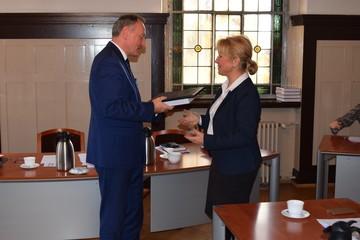 Galeria Ostatnia Sesja Rady Miejskiej w Oleśnie kadencji 2014-2018