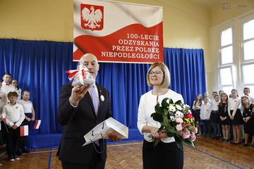 Galeria 100. rocznica odzyskania niepodległości w PSP nr 3