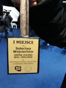 Galeria Wojciechów - I miejsce w Polsce