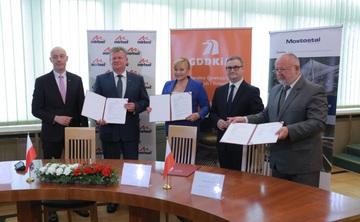 Galeria Podpisanie umowy - obwodnica Olesna
