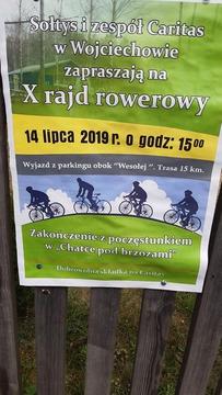 Galeria X Rajd Rowerowy w Wojciechowie
