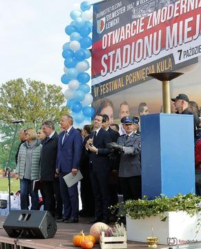 Galeria Otwarcie Stadionu Miejskiego w Oleśnie 7 października 2019 r.