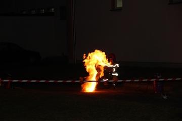 Galeria Borki Wielkie. Festyn z pokazami strażackimi.