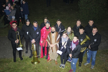 Galeria Misterium św. Marcina w Borkach Wielkich
