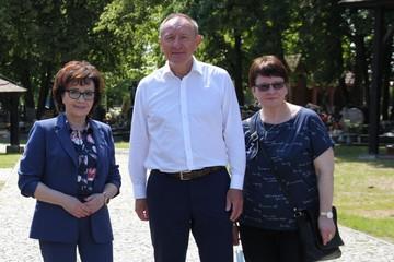Galeria Wizyta Marszałek Sejmu Elżbiety Witek w Oleśnie