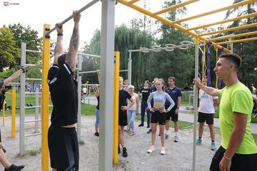 Galeria Otwarty trening z trenerem personalnym - piątek - DNI OLESNA 2021