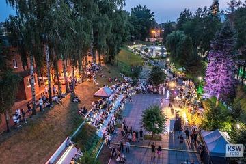Galeria Promenada - piątek - Dni Olesna 2021 - z drona